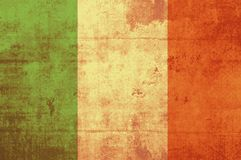 flag ireland Royaltyfri Foto