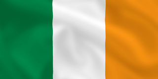 Flag of Ireland Royalty Free Stock Photography