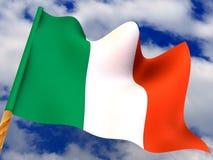 Flag. Ireland Stock Photo