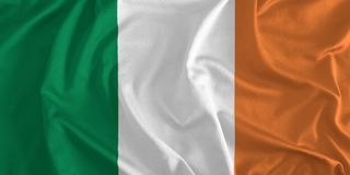 Flag of Ireland Background vector illustration