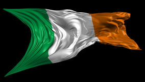 Flag of Ireland Stock Photo
