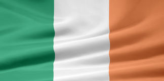 Flag of Ireland - official format stock photography