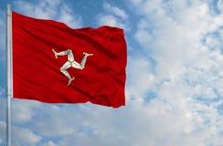 Flag of Isle Of Man Stock Photo