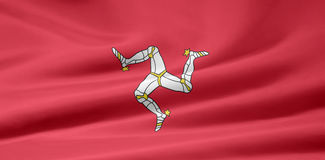 Flag of Isle of Men Stock Images