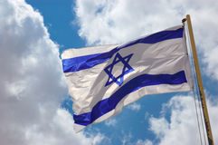 Flag of Israel Royalty Free Stock Image