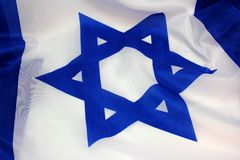 Flag of Israel Stock Image