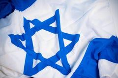 flag israel Royaltyfria Bilder