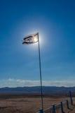 flag israel Royaltyfria Foton