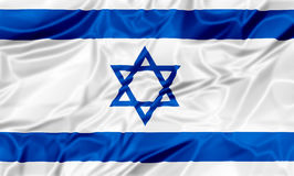 flag israel vektor illustrationer