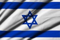 flag israel Royaltyfri Bild