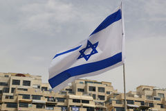 Flag of Israel Royalty Free Stock Photos