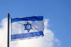 Flag israel Royalty Free Stock Photography