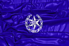 Flag of Israel Police Royalty Free Stock Photo