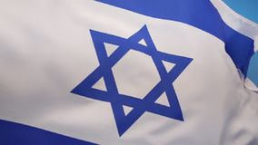 Flag of Israel. The flag of Israel was adopted on October 28, 1948, five months after the country's establishment stock video footage