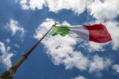 flag italienare Royaltyfria Bilder