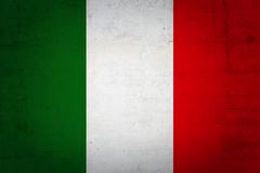 flag italienare Royaltyfri Fotografi