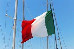 flag italienare Arkivbild