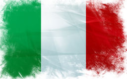 Flag of italy Stock Images