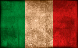 Flag of Italy Stock Photo