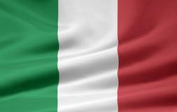Flag of Italy royalty free stock photos
