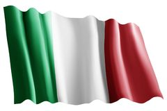 Flag of italy Royalty Free Stock Image