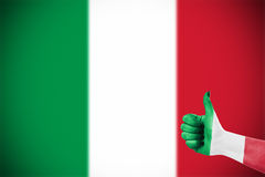 Flag of Italy Royalty Free Stock Photos