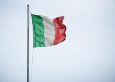 Flag of Italy in Portofino Royalty Free Stock Image