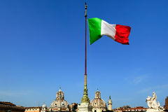 Flag of Italy Stock Photos