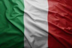 Flag of Italy Stock Photos