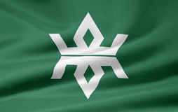 Flag of Iwate - Japan stock photos