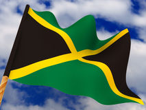 Flag. Jamaica Royalty Free Stock Photos