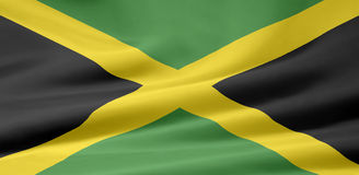 Flag of Jamaica Stock Image