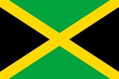 Flag Jamaica flat icon Stock Photo