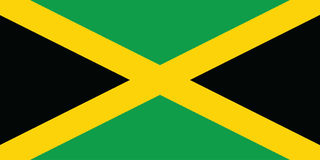 Flag of Jamaica stock photos