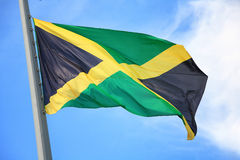 flag jamaican Arkivbild