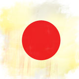 Flag of Japan Royalty Free Stock Photography