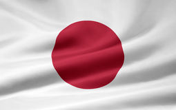 Flag of Japan royalty free stock image