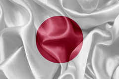 Flag  Japan Royalty Free Stock Photography