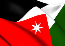 Flag of Jordan Royalty Free Stock Photography