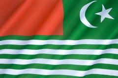Flag of Kashmir - India royalty free stock photo