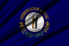Flag of Kentucky Stock Photography