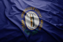 Flag of Kentucky state Royalty Free Stock Photos