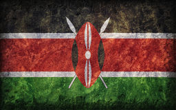 Flag of Kenya Stock Images
