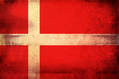 Flag of Kingdom of Denmark Royalty Free Stock Image