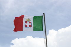 Flag Of Kingdom Of Italy Stock Photos