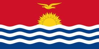 Flag of Kiribati Royalty Free Stock Image