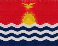 Flag of Kiribati Wall Stock Images