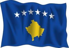 Flag of Kosovo Royalty Free Stock Photo