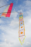 Flag Lanna style,thailand. Stock Image