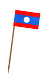 Flag of Laos Stock Photos